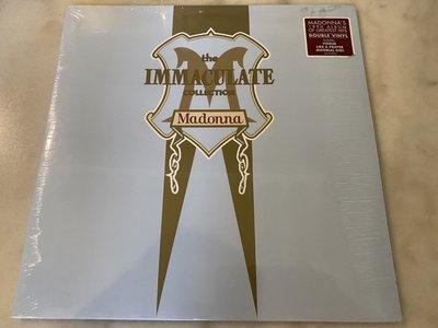 (全新未拆封)Madonna 瑪丹娜 - Immaculate Collection 精選 雙碟裝黑膠LP(華納公司)