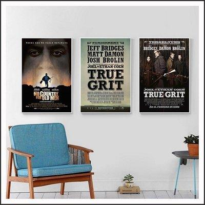 險路勿近 真實的勇氣 True Grit 電影海報 藝術微噴 掛畫 嵌框畫 @Movie PoP 賣場多款海報#