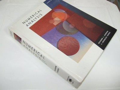 古集二手書J ~Numerical Analysis 6/e Richard L. Burden 0534955320