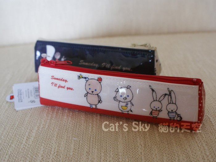 《Cat Sky》日本製『Shinzi Katoh加藤真治繪本』防水收納筆袋.收納袋(一只350元)