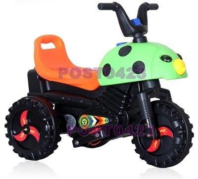@妙奇特@甲蟲兒童電動摩托車 新造型電動車三輪車 寶寶玩具車小孩童車