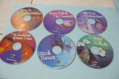 紫色小館75-8--------皇統光碟-卡通英文