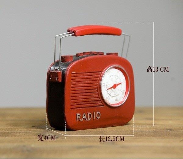 復古懷舊擺件收音機~loft 民宿 餐飲 居家 攝影
