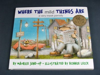 懶得出門二手書】《Where the Mild Things Are:A Very Meek Parody(B11G58