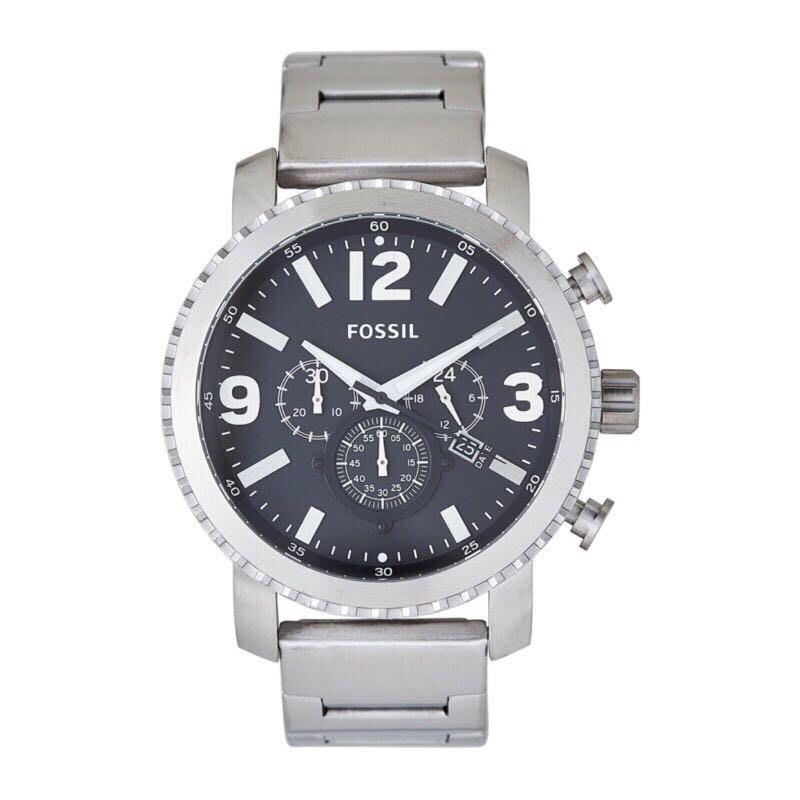 現貨 Fossil Gage Chronograph Stainless Steel Watch