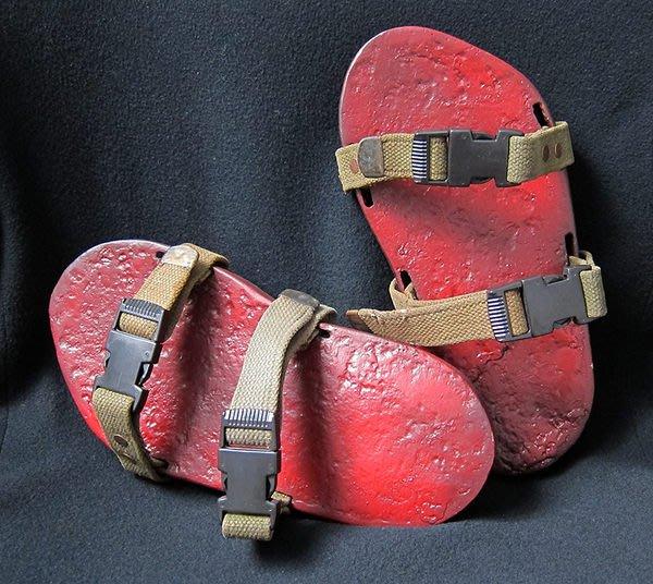男鞋男拖鞋像木屐純手工製舊鐵器西洋民藝手工藝術品懷舊工具【心生活美學】