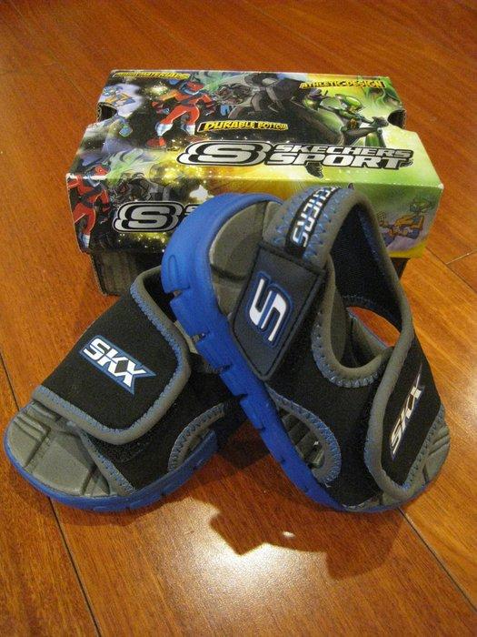 Skechers 男童涼鞋 ( 尺寸US 5 )(此項商品為加購價, 購買其他原價商品3件以上可加購此商品)