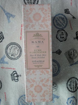 Kama Ayurveda 天然純淨玫瑰水 Pure Rosewater Steam Distilled 200ml