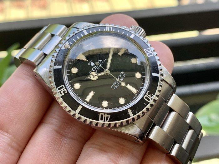~路米名品~ Rolex 5513 Glossy Dial Spider 奶油時標 T DAIL 面盤 美品 14060
