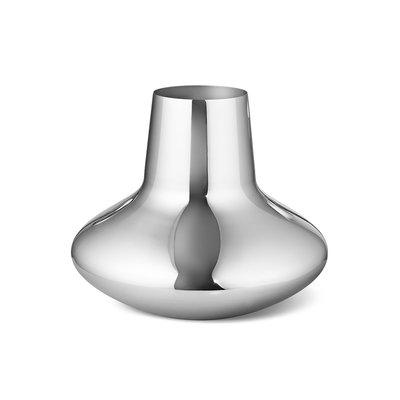 Luxury Life【正品公司貨】Georg Jensen 27cm 漢寧古柏系列 鏡面不鏽鋼 花瓶 - 大尺寸