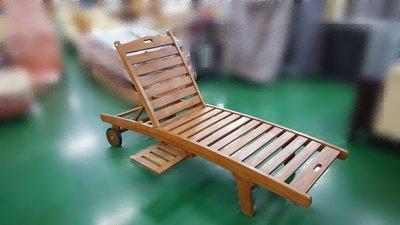 宏品柚木家具賣場 TK-H05*全新柚木海灘椅 實木戶外休閒椅 按摩椅*台中便宜家二手傢俱拍賣 泡茶桌椅 補習班桌椅豪