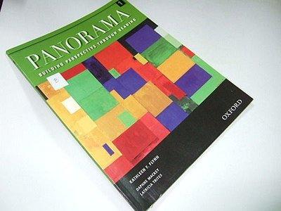 古集二手書G ~Panorama 1: Building Perspective Through Reading 9780194305433