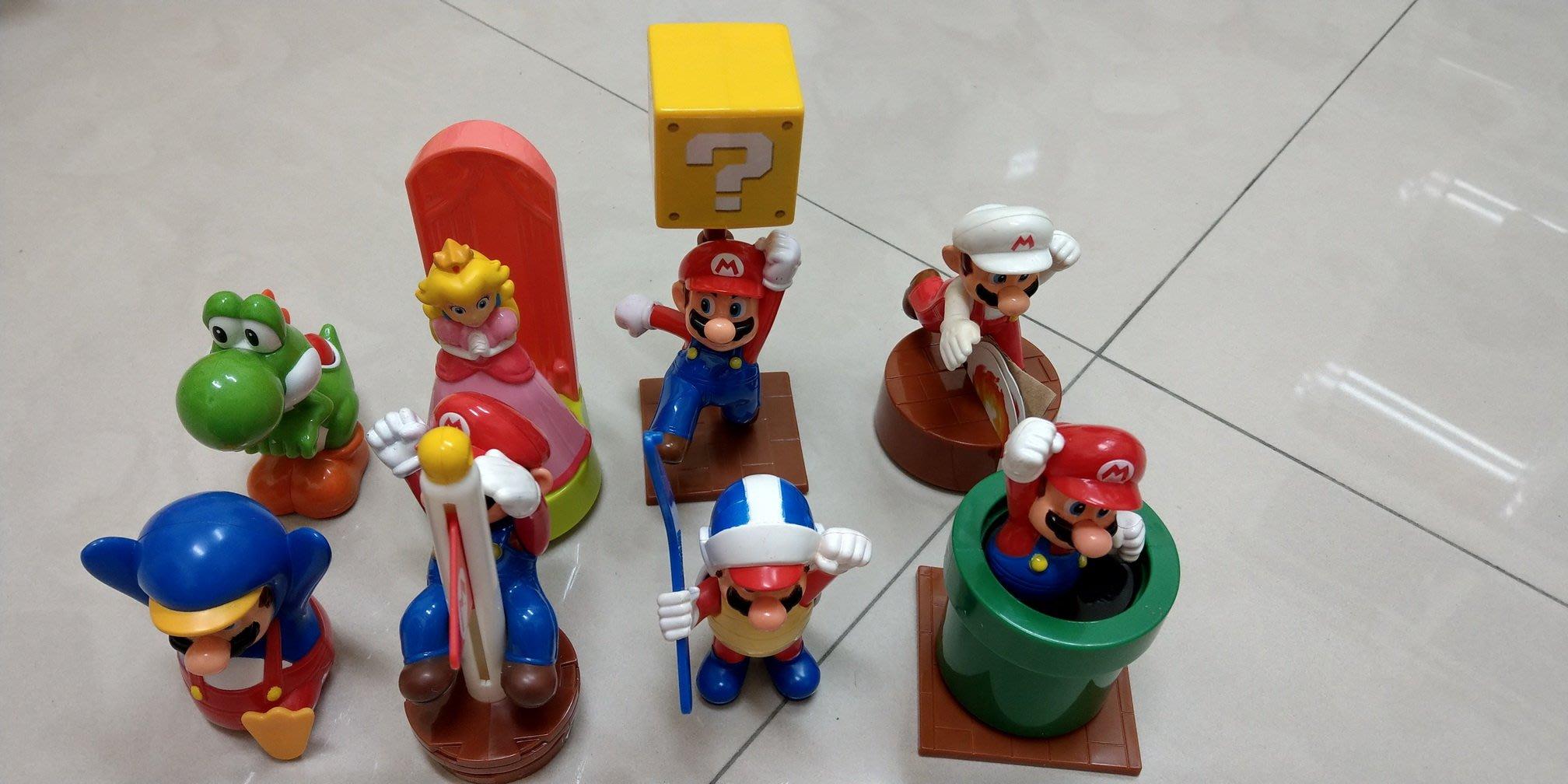 麥當勞2014年超級瑪利歐 Super Mario 超級瑪莉兄弟-大全套8款