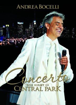 正版全新DVD~安德烈波伽利 / 2011紐約中央公園演唱會Concerto:One Night In Central