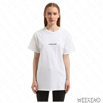 【WEEKEND】 FUCK ART MAKE TEES FAMT Narcissism 短袖 上衣 T恤 白色