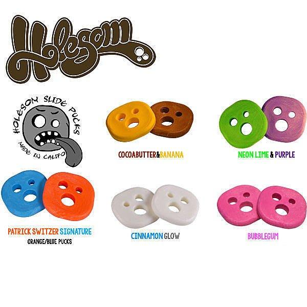 Holesom Longboard(滑板長板/ 交通板/ 膠通板/ 滑板)手套專用滑塊(含香味) - LTS現貨!!
