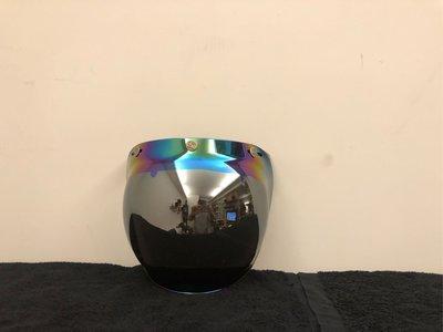 台北喆凡 J&F 2020 Babble Shield 復古 泡泡鏡 風鏡 old school gogoro Vespa many wowow 彩色電鍍茶