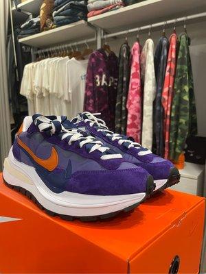 Nike sacai vaporwaffle Dark Iris 紫色 解構 us10 DD1875500 全新現貨在台