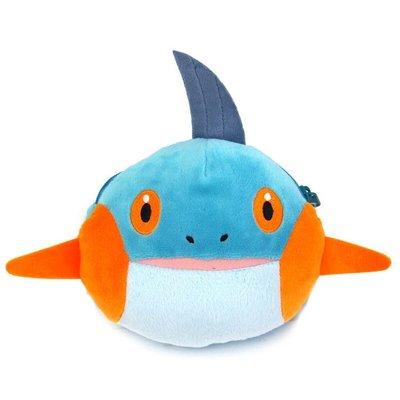 尼德斯Nydus~* 日本正版 神奇寶貝 精靈寶可夢 Pikachu 皮卡丘 票卡夾 零錢包 娃娃 沼躍魚 約12cm