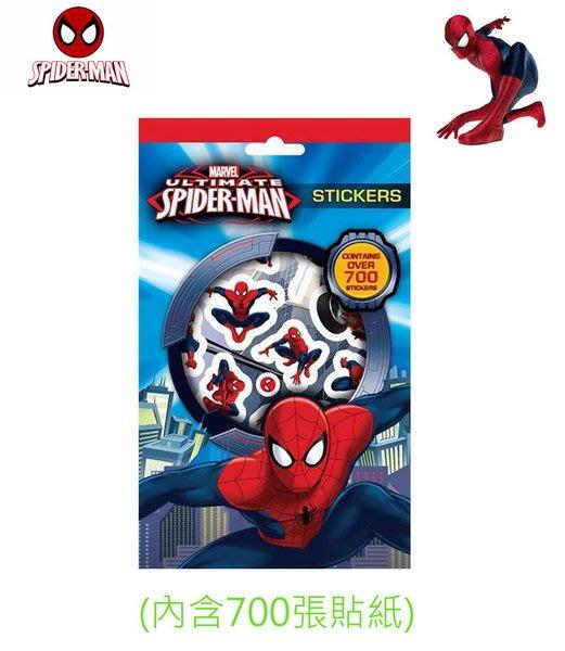 出口英國SPIDER MAN蜘蛛人貼紙(內含700張貼紙 )官網同步販賣…