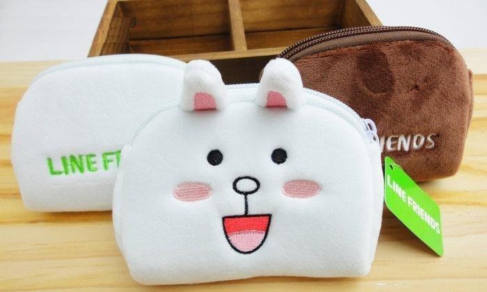 ~Alice Family~ LINE FRIENDS 5吋 小錢包 卡包 收納包 兔兔款