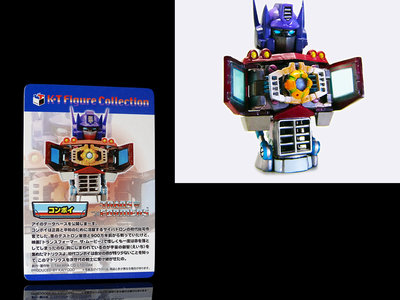 BO-A 櫃 : 2004年 CONVOY 柯博文 盒玩 K.T FIGURE COLLECTION  天貴玩具店