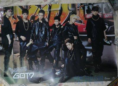 GOT7 Identify Special Edition 【大型宣傳海報】全新!免競標~