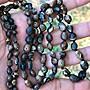 天珠手鏈 108彿珠 念珠 天眼石 天眼石 戈壁石 西藏 原石 天然形狀 沒有拋磨 量少 稀有 文玩 收藏