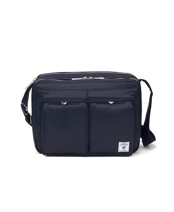 4165 日本直播 1/7~1/10  免稅品預購 Porter MA-1 PLUS斜背包-深藍色 小日尼三