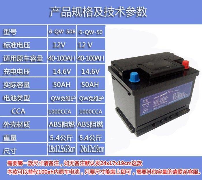(免運)磷酸鋰鐵汽車電池12V50AH (升級70AH價格不變)有保護板 汽車鋰電 汽車電瓶 磷酸鐵鋰