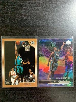 Grant Hill Topps UpperDeck 籃球卡一共2張