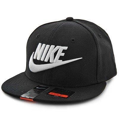 ◇Nike True Futura Snapback 棒球帽 刺繡 排扣 黑白 經典 logo 584169-010◇