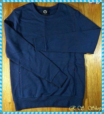 【R.S.小舖】 Agnes b. 深藍上衣 純棉 全新專櫃正品