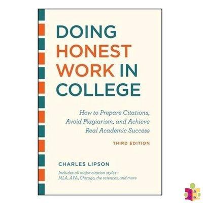 [文閲原版]如何在大學誠實地寫論文 英文原版 Doing Honest Work in College 論文寫作 Cha