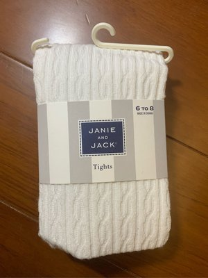 出清JANIE AND JACK 褲襪 6-8 10-12