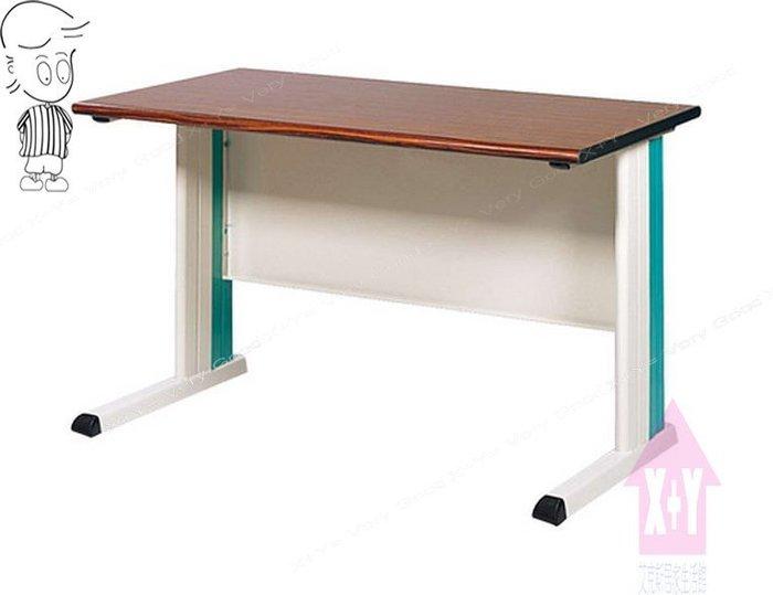 【X+Y時尚精品傢俱】OA辦公桌系列- 胡桃檯面KD-100(綠)辦公桌空桌.職員桌.台南市OA辦公家具