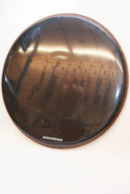 *JP樂器*AQUARIAN-Regulator Black RSM24BK 鼓皮 24吋