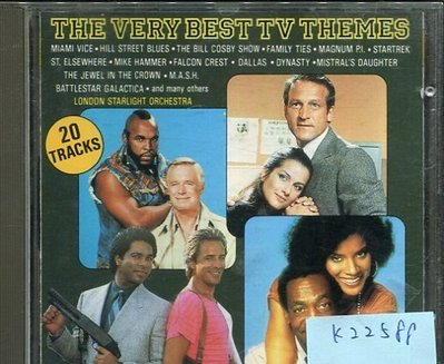 *真音樂* THE VERY BEST TV THEMES 二手 K22588