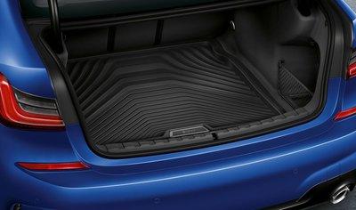 【樂駒】 BMW 3er G20 原廠 套件 車內 周邊 後車廂 行李箱 襯墊 防水 防污 導水線 橡膠