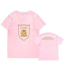 Gidle演唱會2020(G)I-DLE WORLD TOUR I-LAND周邊短袖應援T恤