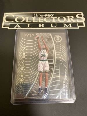Paul Pierce 15/16 Clear Vision #133 Rookie Revision