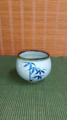 (店舖不續租清倉大拍賣)陳永皓先生---青花茶碗,原價2000元特價1000元