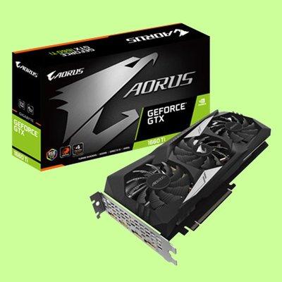 5Cgo【聯強】技嘉 NVIDIA AORUS GeForce GTX 1660 Ti 6G 顯示卡  3年保 含稅