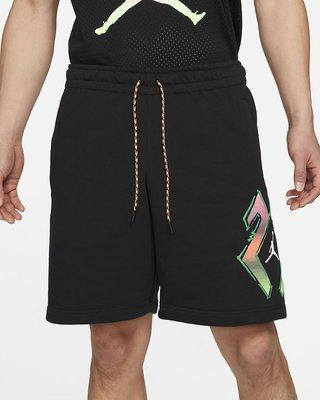NIKE Jordan Sports DNA 男款 短褲 運動 訓練 復古 厚絨 黑色 CZ4848-010 全新預購