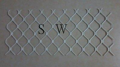 1009 固展鋁花格 花格鋁 格子狀鋁擠型 鋁擠型 鋁料 鋁門窗材料 鋁材 鋁門窗 紗窗 紗門 DIY 五金