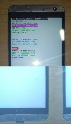 $${故障機}HTC One E9 dual sim E9x(白)$$