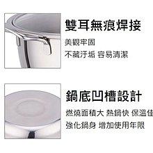~鵝頭牌~台製316不鏽鋼(雙耳)料理湯鍋26cm/4L 熱鍋快 蓄熱佳 耐酸鹼湯鍋 (全21400)