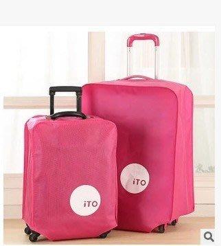 地攤站加厚旅行箱套無紡布拉箱套保護套旅遊時尚行李箱防塵罩30吋55 高雄市