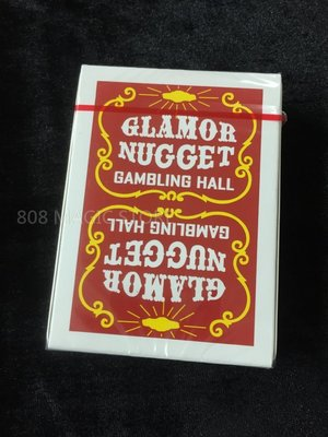 [808 MAGIC]魔術道具  Glamor Nugget (暗紅色Dark Red)