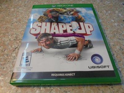 XBOX ONE 健身趣 SHAPE UP 中英合版 直購價900元 桃園《蝦米小鋪》